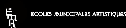 logo Ecoles Municipales Artistiques : site officiel